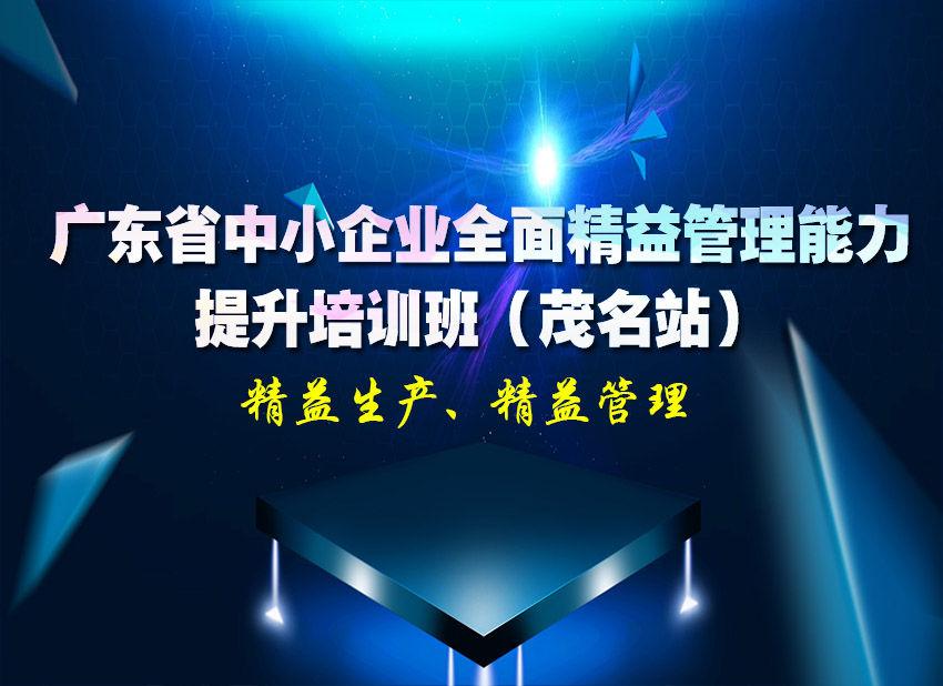 关于举办广东省中小企业全面精益管理能..